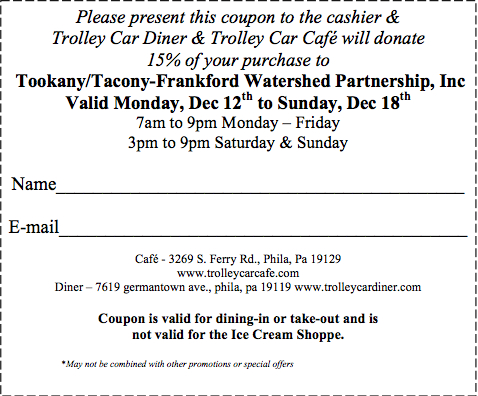 Trolley Car Diner Coupon