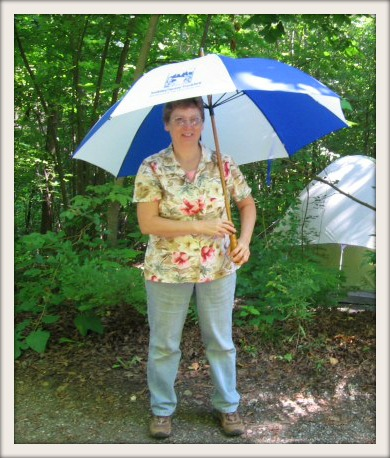 Dottie with TTF Umbrella