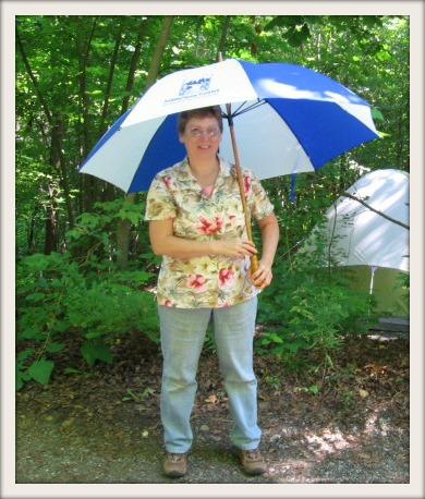 Dottie with TTF Umbrella