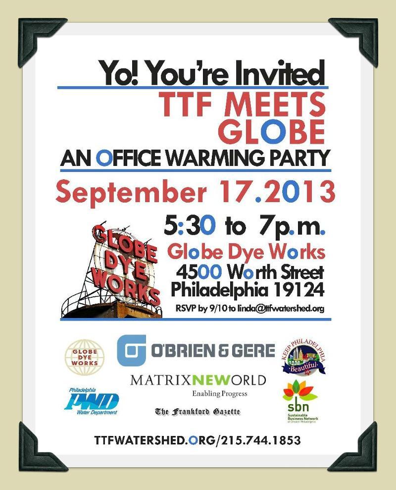 Office Warming. Invite