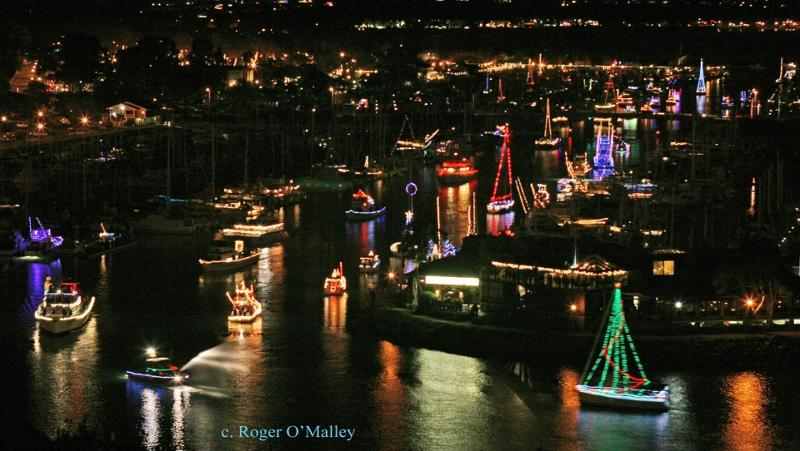2012 DPH Boat Parade (shot from bluff)