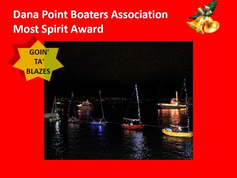 2012 DPH Boat Parade (Most Spirit Award)