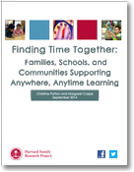 Finding Time Together publication cover