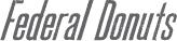 Federal Donuts Logo Grey