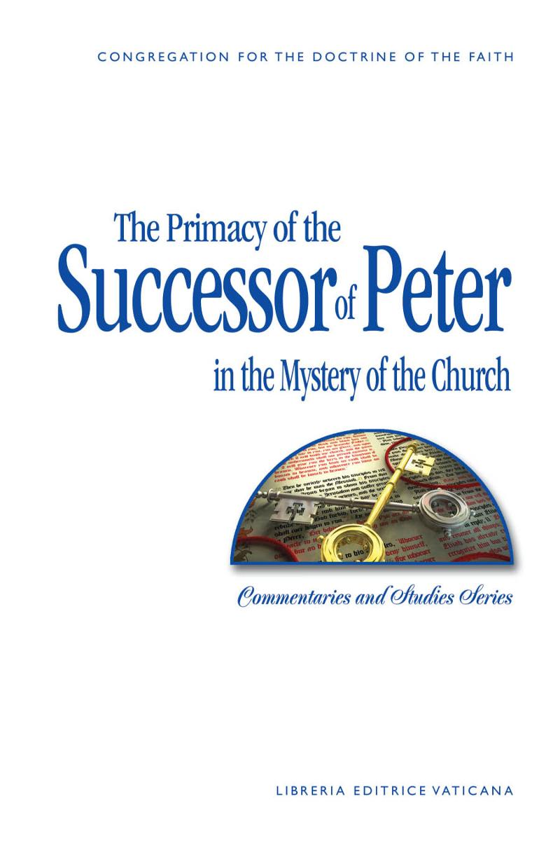 7-200 cover_Primacy of Successor of Peter