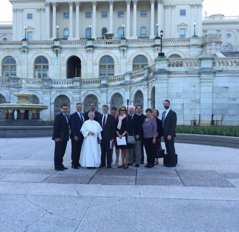 Members of FAAC before our day of advocacy.