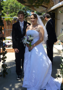 Congratulations to the happy couple, Sign� and Nate.
