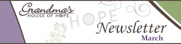March Newsletter Header