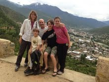 Lionheart Teacher Lisa Lewis travels to Bhutan to teach Energy Healing