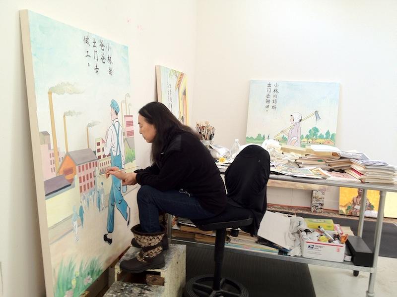 Hung Painting II 2012