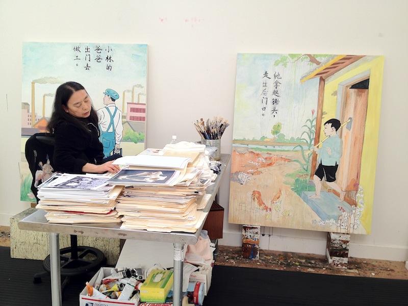 Hung Painting 2012 III