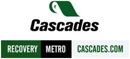 Cascades Recovery Logo