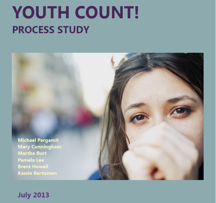 Youth Count Report Cover