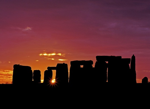 Stonehenge at equinox