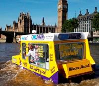 Amphibious Ice Cream Truck