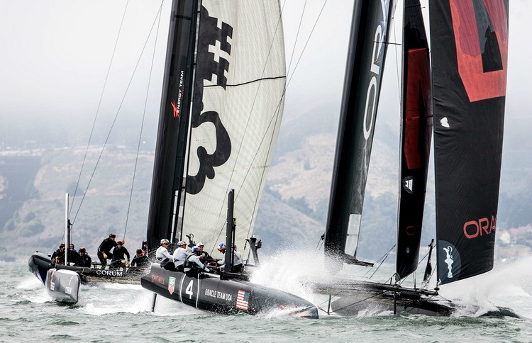 America's Cup free racing in SF