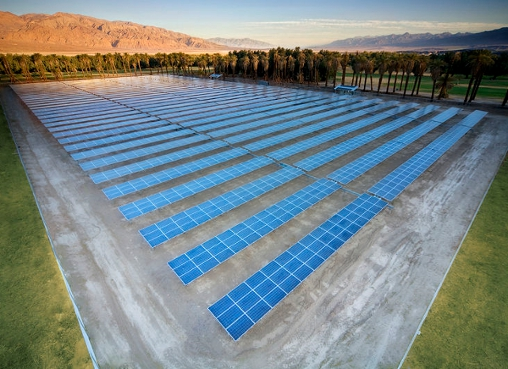 Furnace Creek Solar Panels
