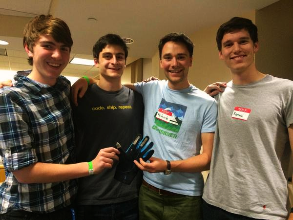 Olin College Hashtag Glove team
