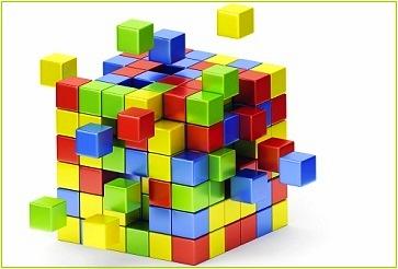 cube deconstructing