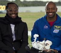 will.i.am and NASA's Leland Melvin