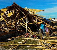 tornado damage illinois FEMA