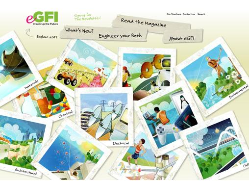 eGFI homepage