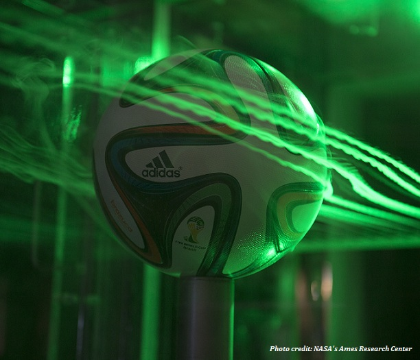 NASA tests Brazuca's aerodynamics