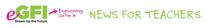 eGFI logo for teacher newsletter