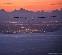 Solar Impulse 2 landing in Hawaii July 3 2015