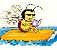 bug on a raft