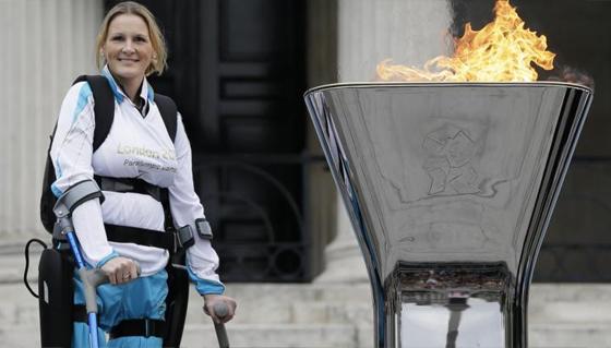 Britain's Bionic Athlete Claire Lomas