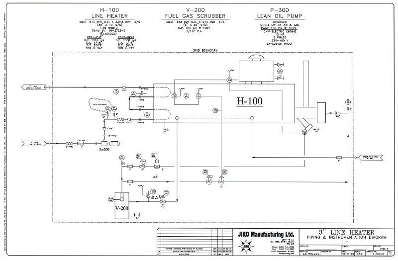 Gas Compressor  Gas Compressor P U0026id