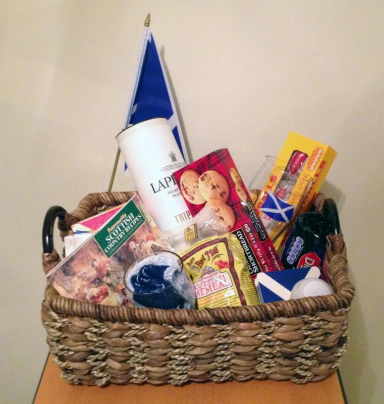 Scotland Delights Baskets