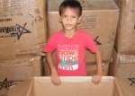 LCP child with box