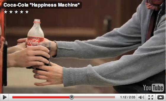 Coca Cola Happiness Machine