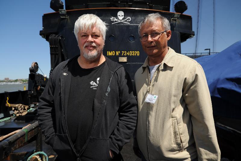 Paul Watson & Paul Mila