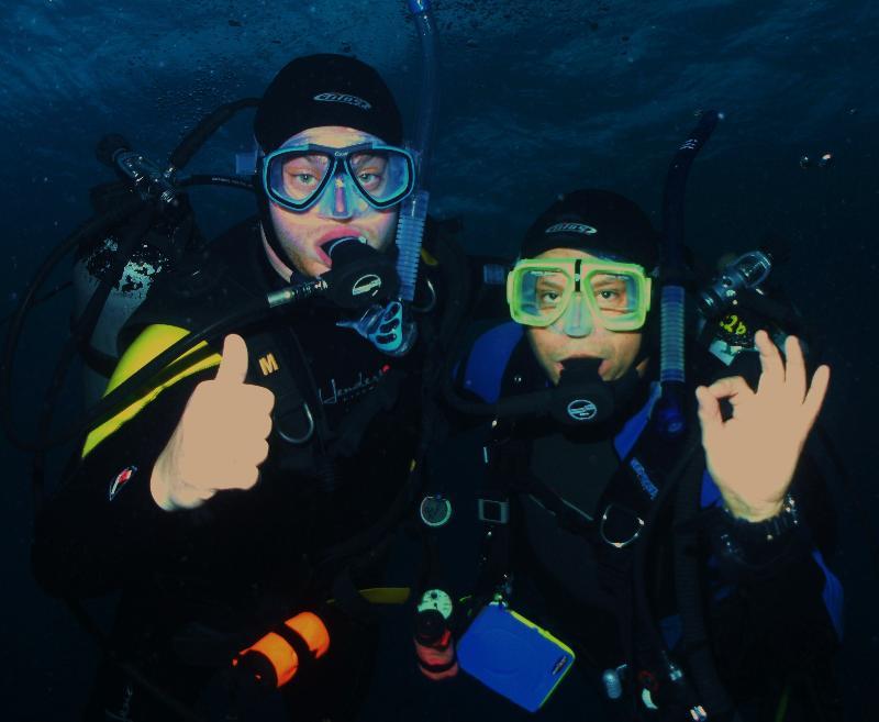 Sean & Paul in Cozumel