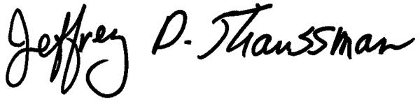Dean Straussman's Signature