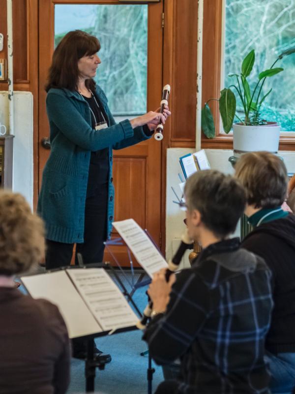 Vicki Boeckman teaching