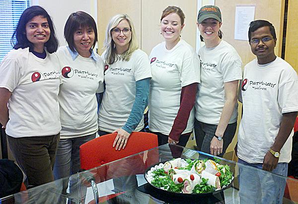 Vertex Volunteer Day at Pathways