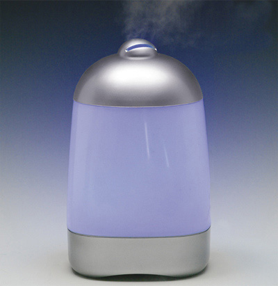 spa mist diffuser display