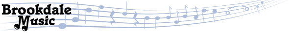 brookdale music logo