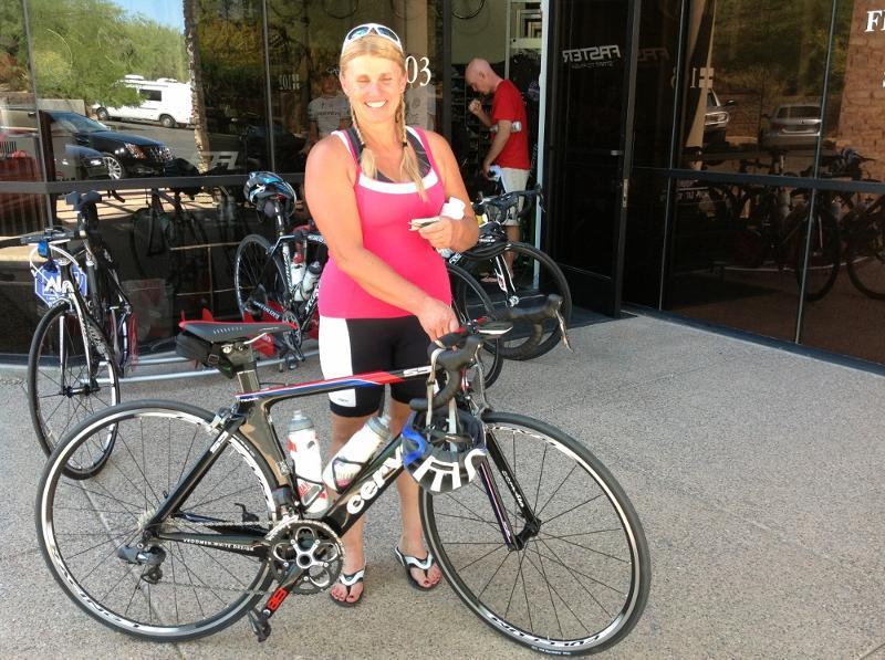 Jen Hanson New Bike