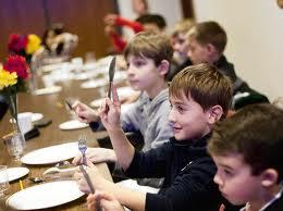 teach kids table manners