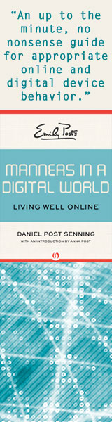 Digital Manners no Dan head