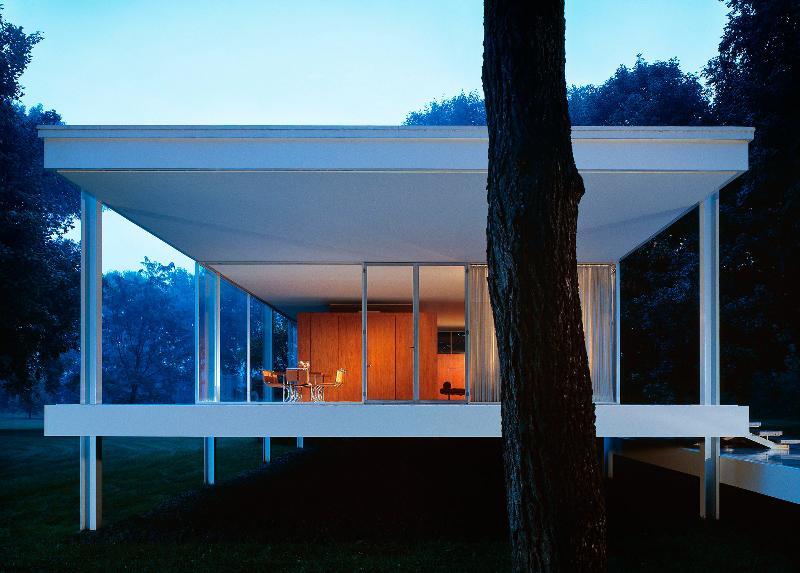 Farnsworth House by Scott Frances