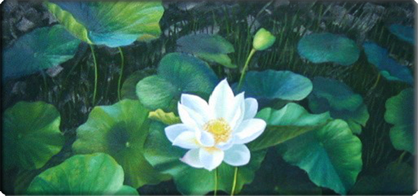 White Lotus Detail