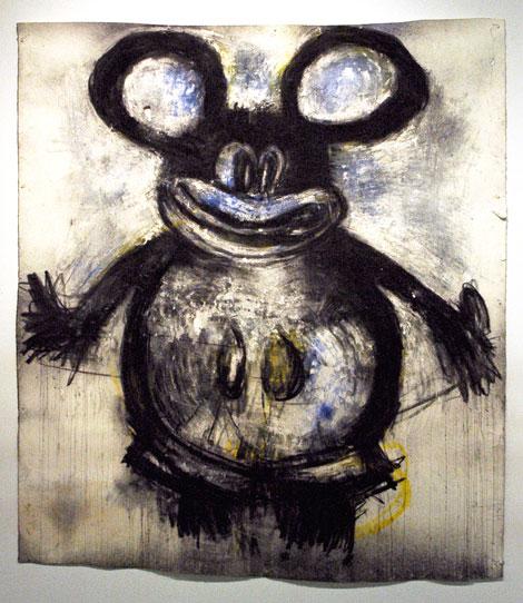 Blue Mickey by Joyce Pensato