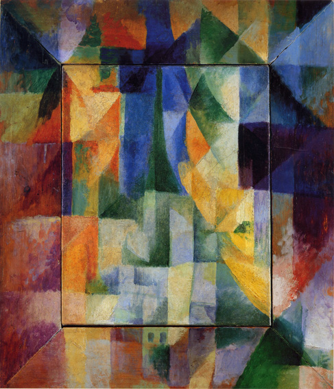 Simultaneous Windows on the City, 1912, by Robert Delaunay