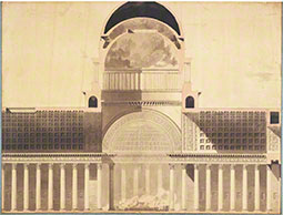 Architectural Project for the Church of the Madeleine, 1777-85, Etienne-Louis Boullée